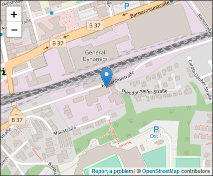 Karte des Standortes
